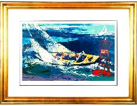 1970 America's Cup, Intrepid Vs Gretel II 2007 Limited Edition Print by LeRoy Neiman - 1