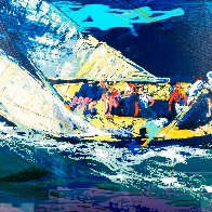 1970 America's Cup, Intrepid Vs Gretel II 2007 Limited Edition Print by LeRoy Neiman - 4