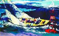 1970 America's Cup, Intrepid Vs Gretel II 2007 Limited Edition Print by LeRoy Neiman - 0