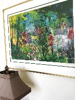 Chateau Hunt 1979 Limited Edition Print by LeRoy Neiman - 1