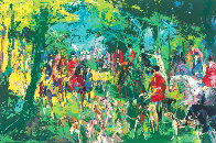 Chateau Hunt 1979 Limited Edition Print by LeRoy Neiman - 0