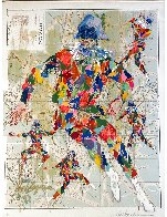 Harlequin Bergamo Limited Edition Print by LeRoy Neiman - 1