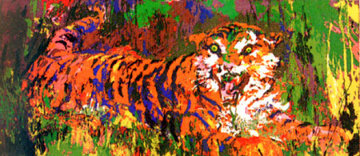 Young Tiger 1978 Limited Edition Print - LeRoy Neiman