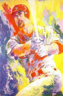 Mark McGwire 1999 Limited Edition Print by LeRoy Neiman