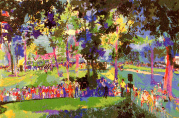 U.S. Open at Oakmont 1983 Limited Edition Print by LeRoy Neiman