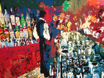 Chicago Key Club Bar 1989 (Playboy) Limited Edition Print by LeRoy Neiman