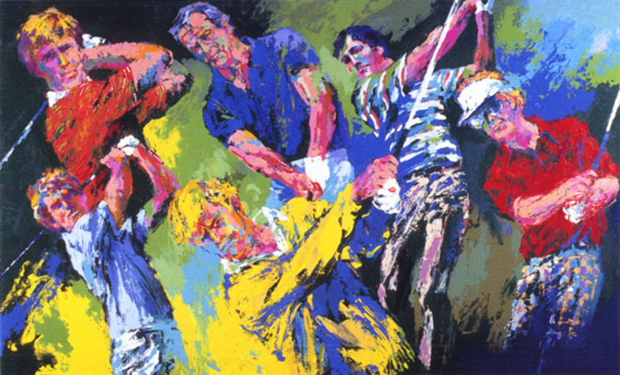 Golf Winners 1984 Limited Edition Print by LeRoy Neiman