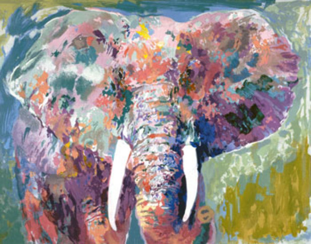 Charging Bull AP 2006 Limited Edition Print by LeRoy Neiman