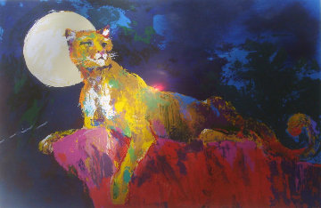 Cougar 1981 Limited Edition Print by LeRoy Neiman