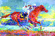 Funny Cide 2004 Limited Edition Print by LeRoy Neiman - 0