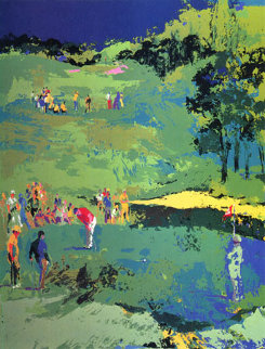 Golf Landscape 1976 Limited Edition Print by LeRoy Neiman