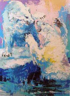 Polar Bears 1979 Limited Edition Print - LeRoy Neiman