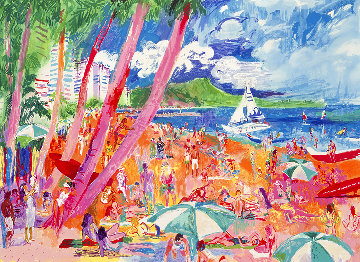 Diamond Head Hawaii HC 1988 Limited Edition Print - LeRoy Neiman