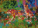 Jaguar Family 1980 Limited Edition Print by LeRoy Neiman - 0