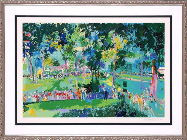U. S. Open at Oakmont 1983 Limited Edition Print by LeRoy Neiman