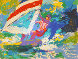 Windsurfer 1984 Limited Edition Print by LeRoy Neiman - 1