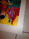 Elephant Charge 1999 Limited Edition Print by LeRoy Neiman - 2