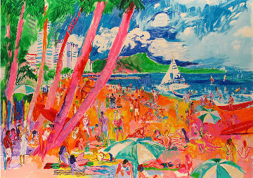 Diamond Head 1988  Limited Edition Print by LeRoy Neiman