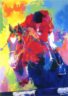 Olympic Jumper 1984 Limited Edition Print by LeRoy Neiman