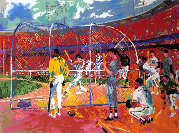 Bay Area Baseball 1990 Limited Edition Print by LeRoy Neiman
