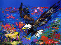 American Bald Eagle PP 1979 Limited Edition Print by LeRoy Neiman - 0