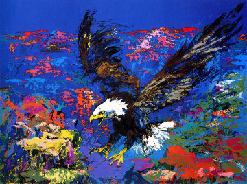 American Bald Eagle PP 1979 Limited Edition Print by LeRoy Neiman