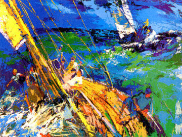Ocean Sailing AP 1977 Limited Edition Print - LeRoy Neiman