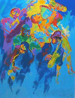 Jazz Horns 2004 Limited Edition Print by LeRoy Neiman