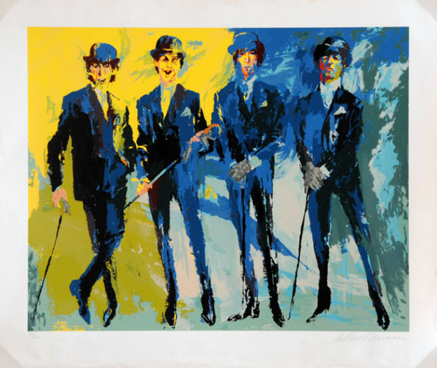Beatles Limited Edition Print by LeRoy Neiman