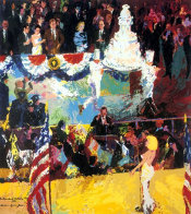 President's Birthday Party 1989 Limited Edition Print by LeRoy Neiman - 0