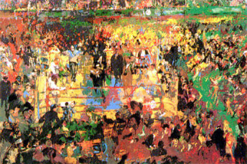 Introduction of the Champions At Madison Square Gardens Limited Edition Print - LeRoy Neiman
