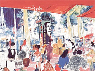 Chez Francis 1997 Limited Edition Print - LeRoy Neiman
