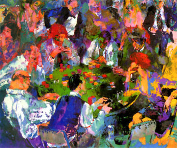 Stud Poker 1980 Limited Edition Print by LeRoy Neiman