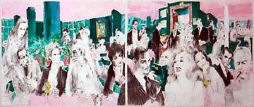 Polo Lounge 1989 Limited Edition Print by LeRoy Neiman