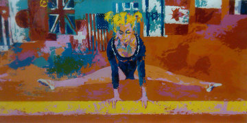 Olympic Gymnast 1976 Limited Edition Print by LeRoy Neiman