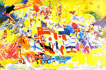 Montreal 76 1976 Limited Edition Print - LeRoy Neiman