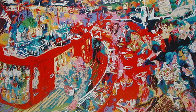 Bar at 21 1974 Limited Edition Print by LeRoy Neiman - 0