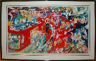 Bar at 21 1974 Limited Edition Print by LeRoy Neiman - 1