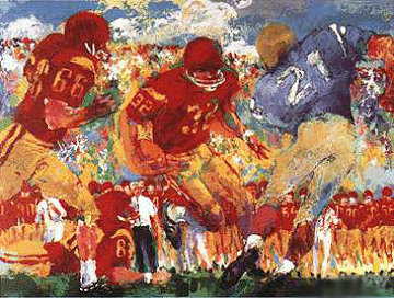 Crosstown Rivalry 1967 Limited Edition Print by LeRoy Neiman