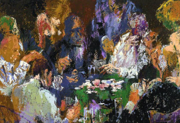 International Poker AP 2004 Limited Edition Print - LeRoy Neiman