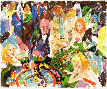 Casino AP 1972 Limited Edition Print by LeRoy Neiman