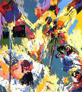 X-Rated Filmmakers AP 1974 Limited Edition Print - LeRoy Neiman
