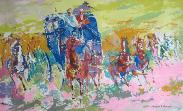 Homage to Remington 1973 Limited Edition Print - LeRoy Neiman