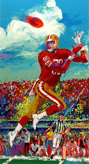 Jerry Rice 1995 Limited Edition Print by LeRoy Neiman