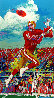 Jerry Rice 1995 Limited Edition Print by LeRoy Neiman - 0