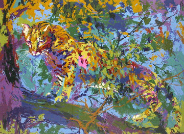 Ocelot 1973 Limited Edition Print by LeRoy Neiman
