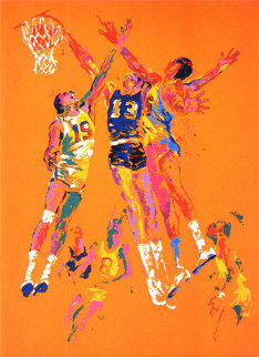 Basketball AP Limited Edition Print by LeRoy Neiman