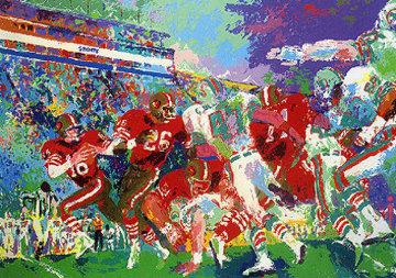 Post Season Football Classic 1985 Limited Edition Print - LeRoy Neiman