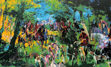 Chateau Hunt 1979 Limited Edition Print - LeRoy Neiman