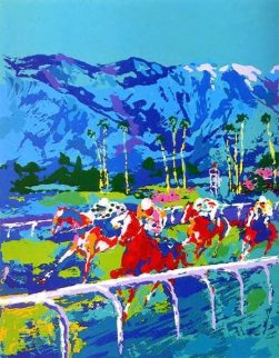 Santa Anita 1979 and Horses Book Limited Edition Print by LeRoy Neiman